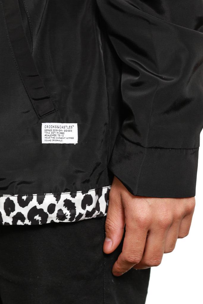 Maison Coach Jacket Black. Maison Coach Jacket Black. Crooks and Castles