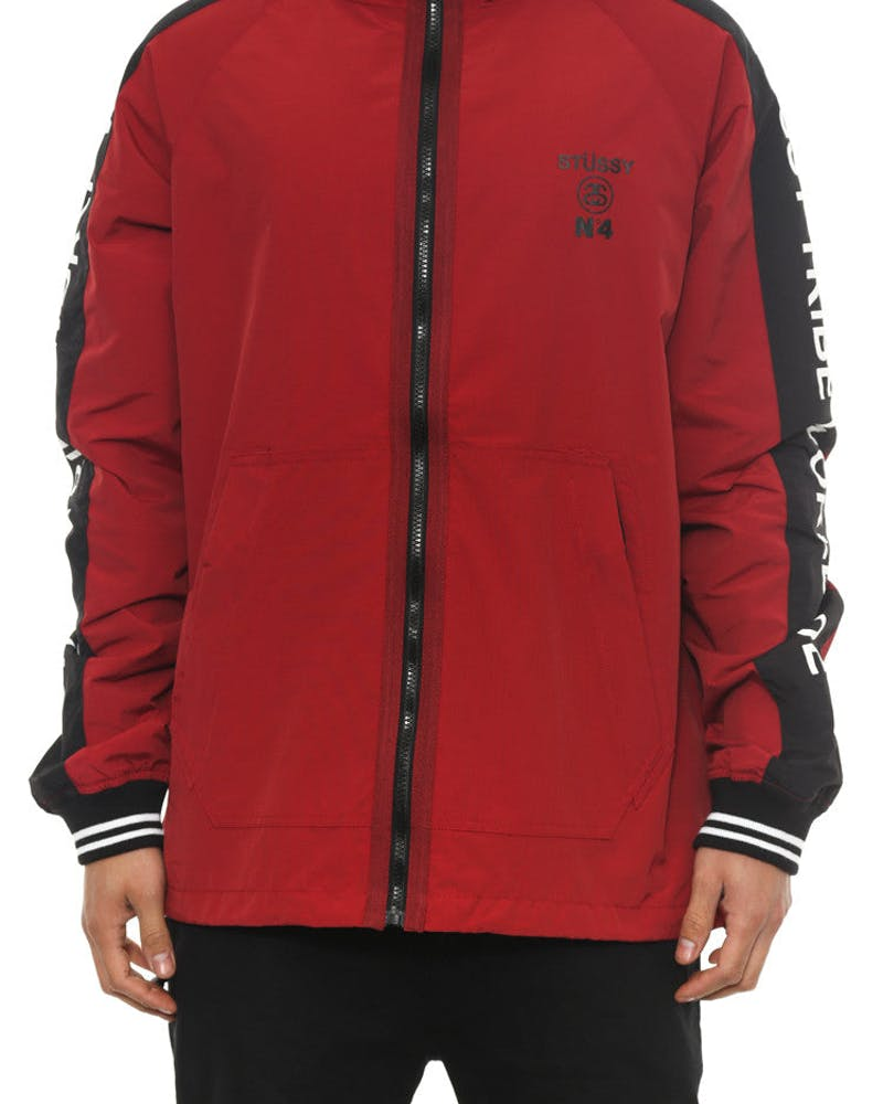 Tribe Spray Jacket Wine