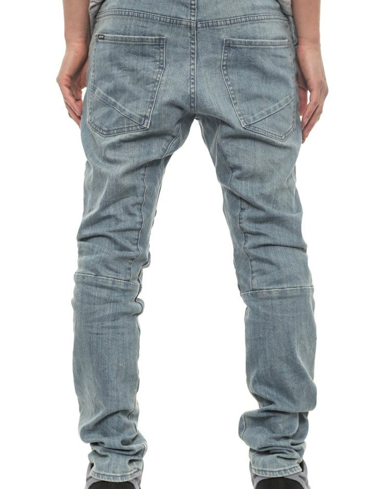 Scrambler Denim Jean Steel/black