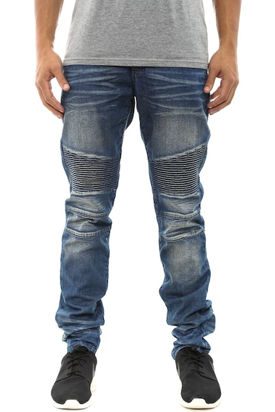 Biker Jean Light Blue