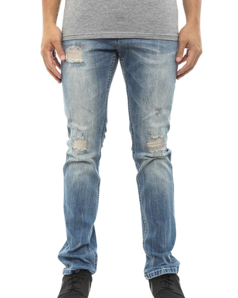 Brooklyn Jean Blue/white