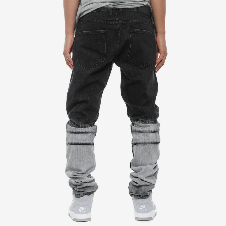 Cayenne Ombre Denim Jean Black/grey