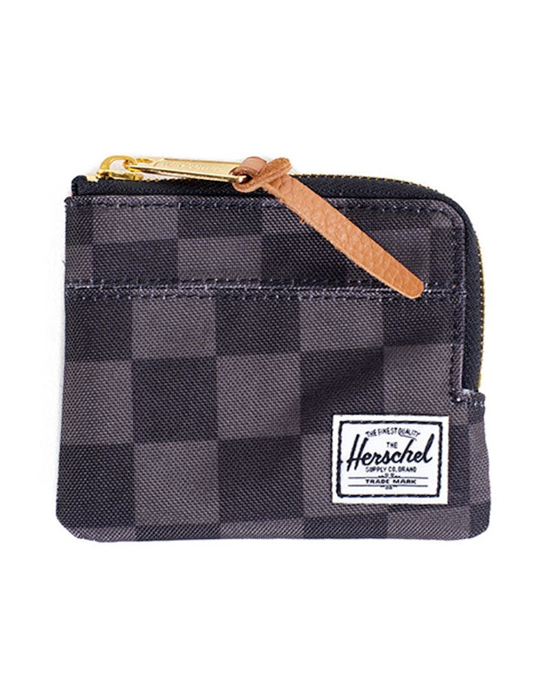 Johnny Wallet Black/charcoal