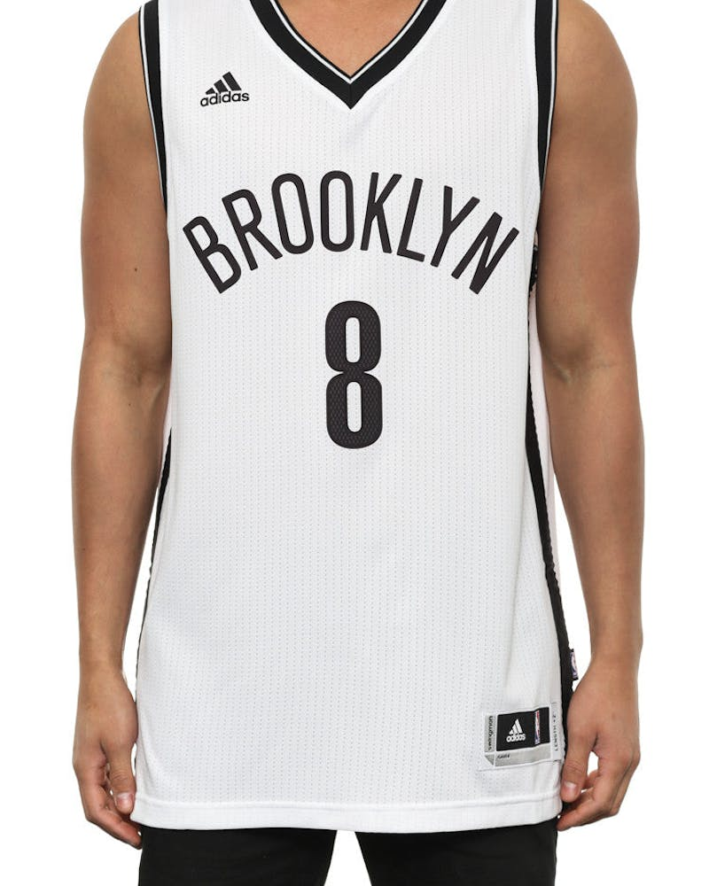 Nets 8 Williams Swingman Jersey White