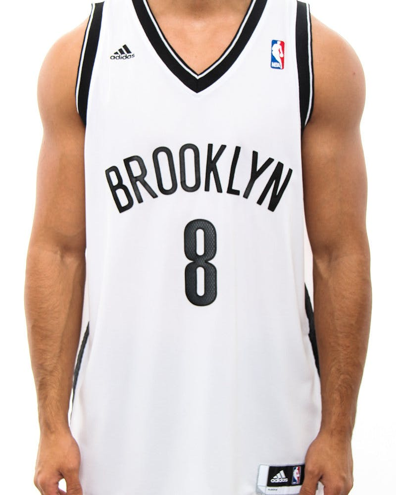 Brooklyn Nets 8 Revolution 30 Jersey White