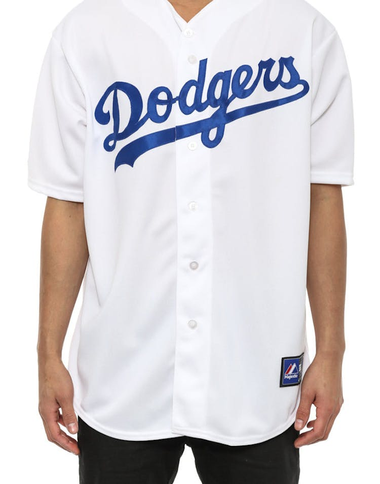 Dodgers Onfield Replica White