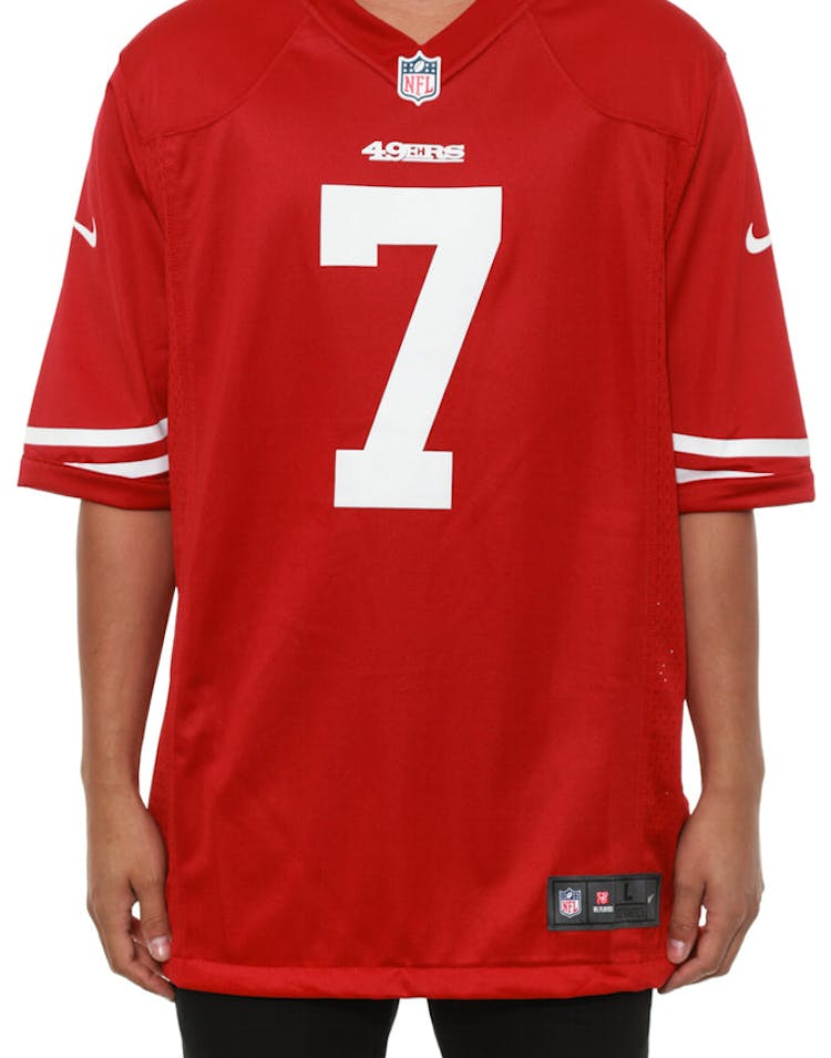 7d00b2056 Nike 49ers Game Jersey 7 Kaepernick Red white – Culture Kings