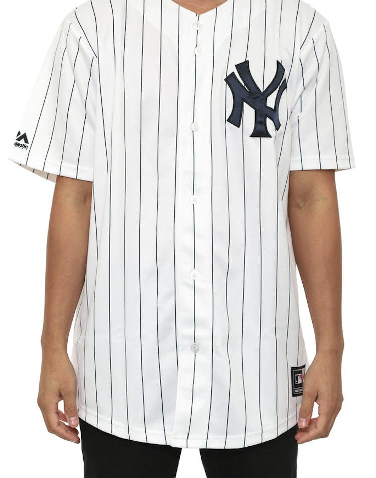 42d26b132d8 Majestic Athletic Yankees Replica Home Jersey White – Culture Kings