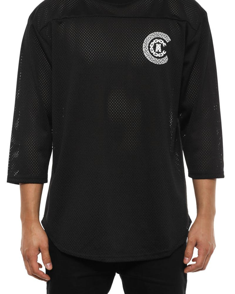 Double C Raglan Black