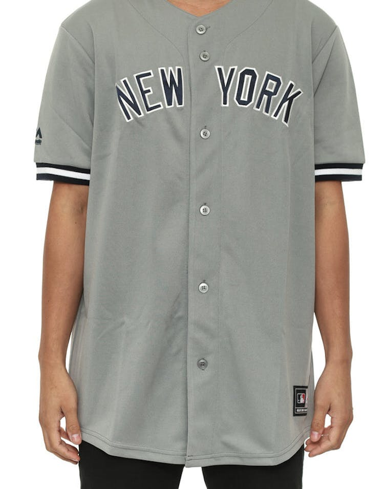 hot sale online 0dabd fc063 Yankees Replica Road Jersey Grey