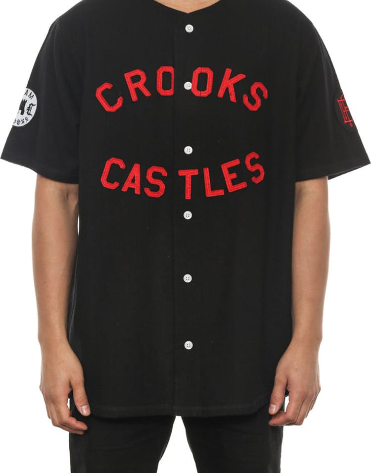 Southpaw Baseball Jersey Black