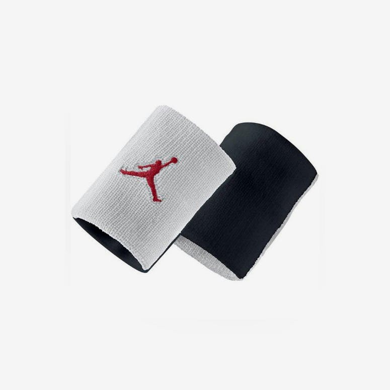 Jumpman Wristband White/black/red
