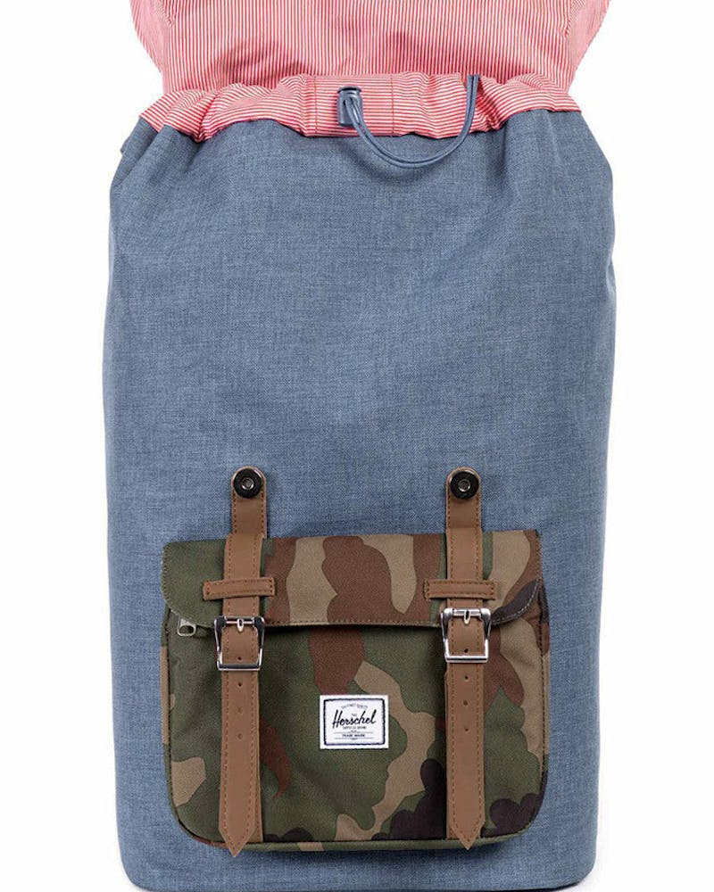 Little America Backpack 4 Navy/camo/tan