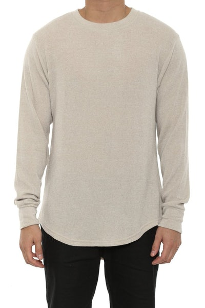 Penny Long Sleeve Tee Tan