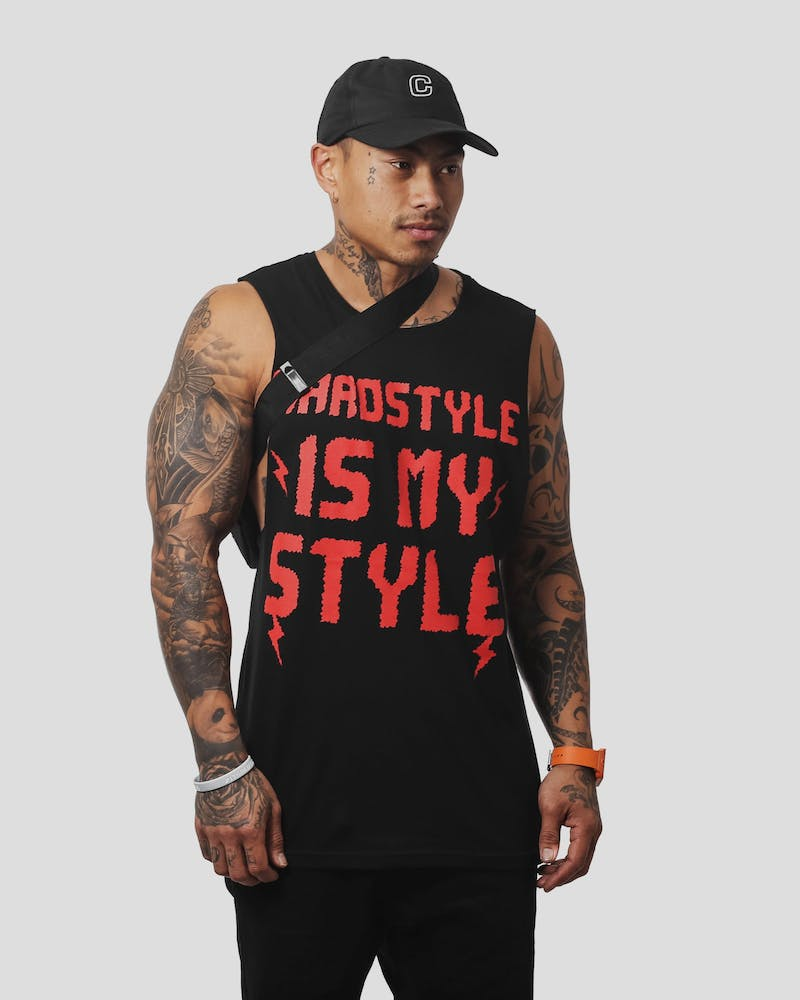 Hardstyle Muscle Tank Black