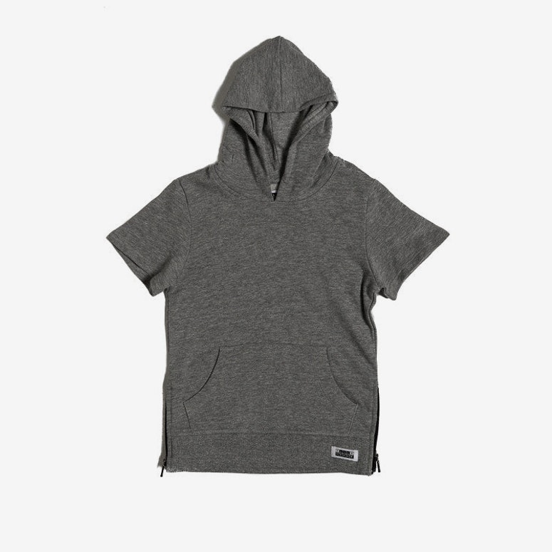 Lil Hom Vaurien SS Hoody Grey Heather