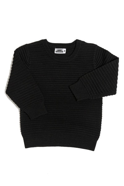 Lil Hom Ripple Jumper Black