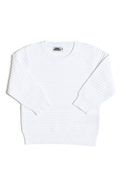 Lil Hom Ripple Jumper Cream