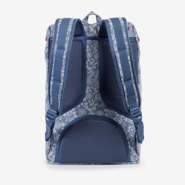 a2d7aa6b440b Herschel Bag CO Little America Mid-volume Blue Floral – Culture Kings