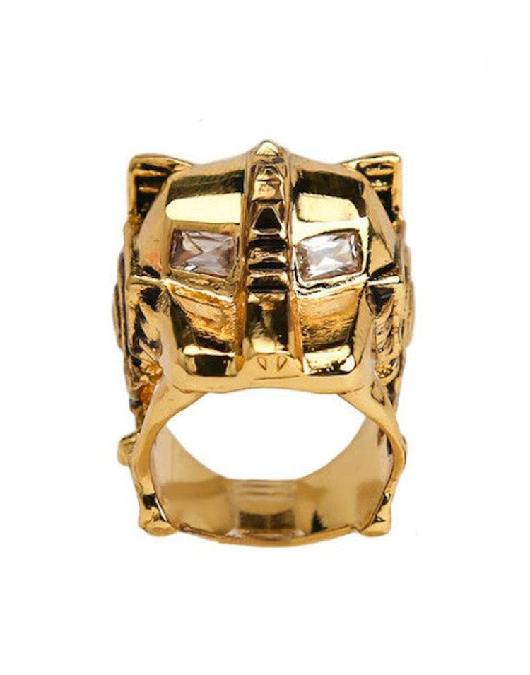 Lioness Ring Gold