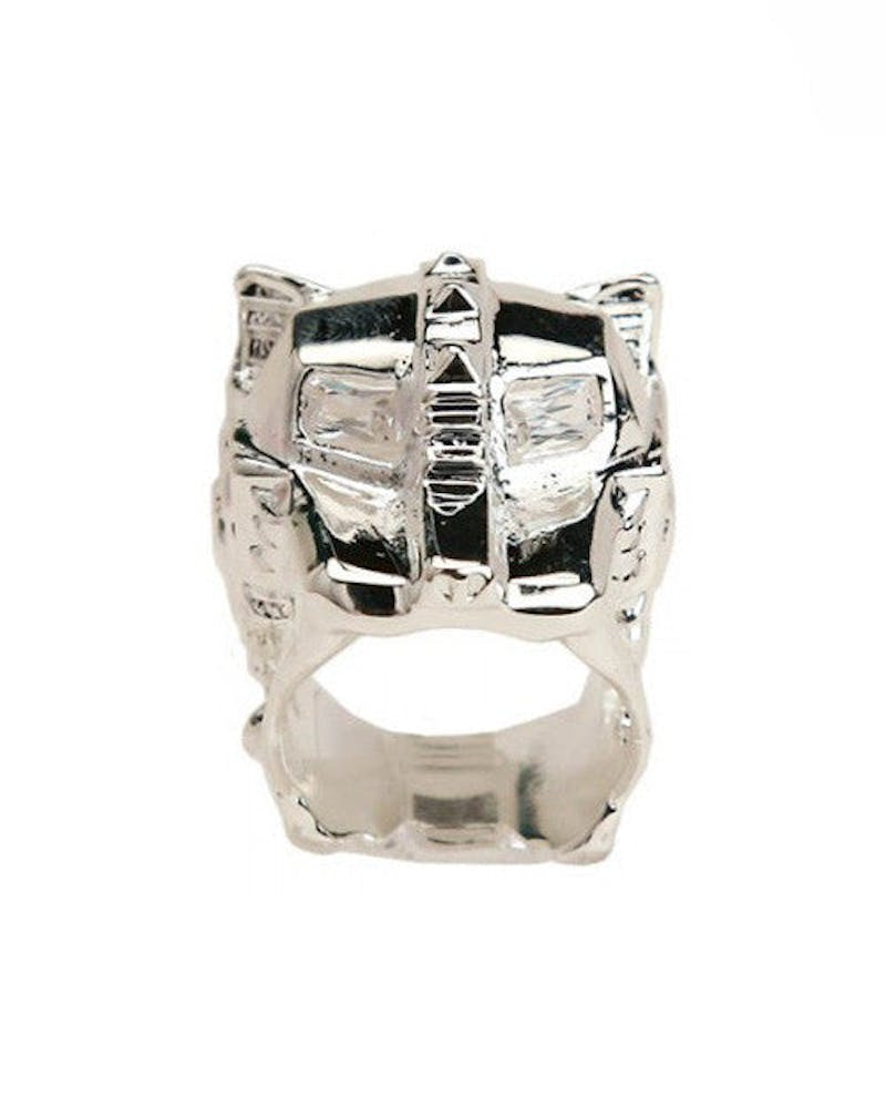 Lioness Ring Silver