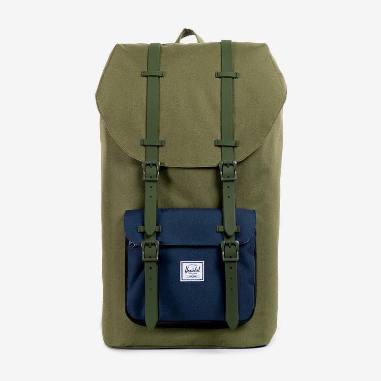 Little America Rubber Army Green/blac