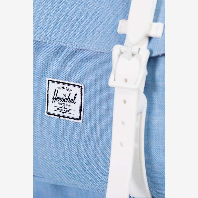 Little America Rubber Chambray/white
