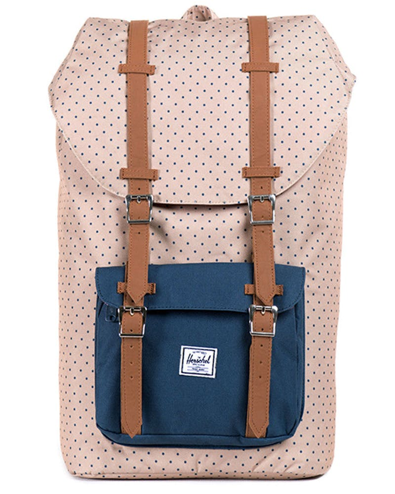 Little America Backpack 2 Khaki/navy