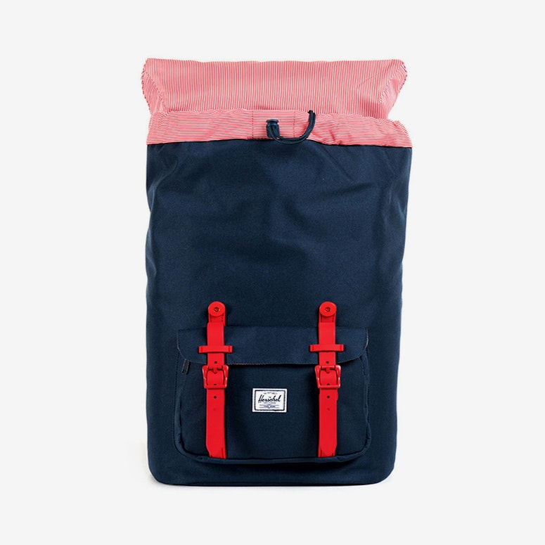 Little America Rubber Navy/red