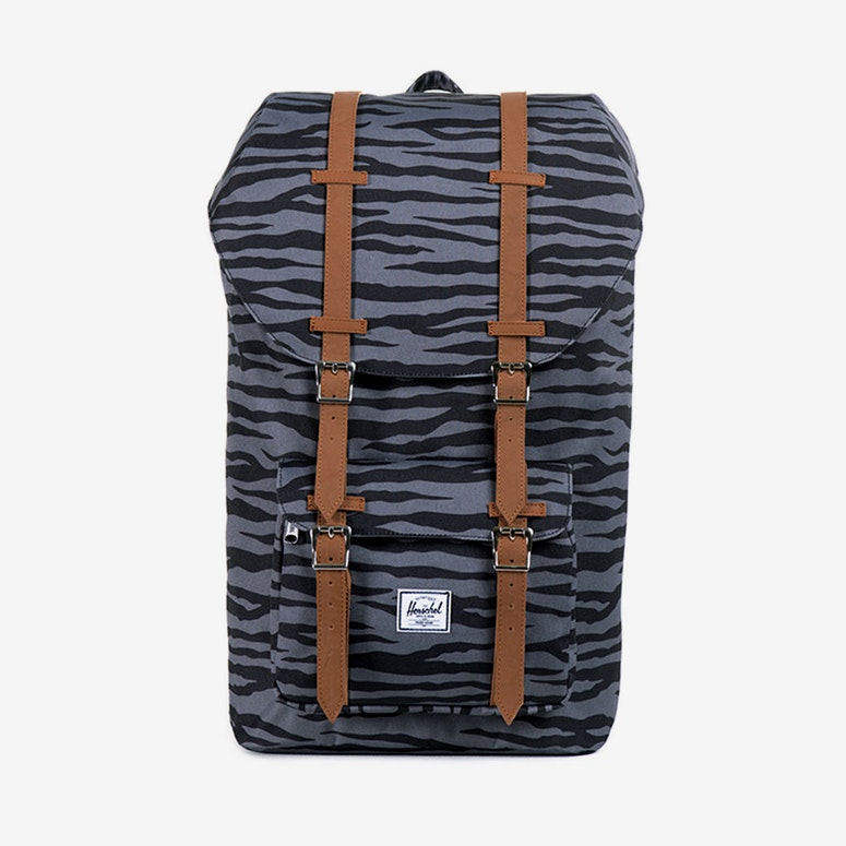 Little America Backpack Charcoal/black