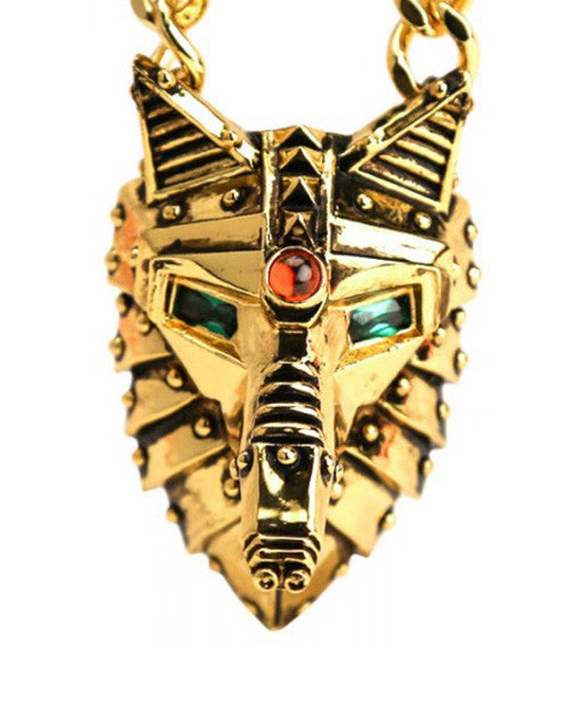 Lobo Necklace Gold