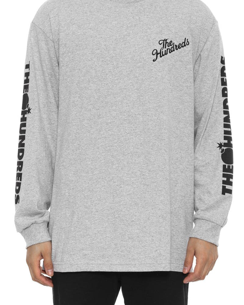 Bars Long Sleeve Tee Grey