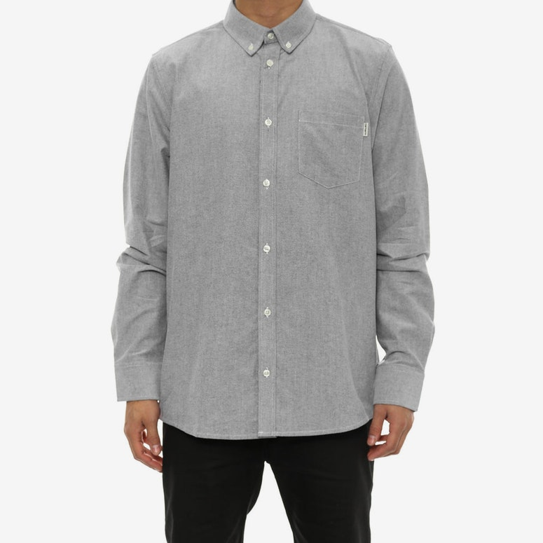 Raymond Long Sleeve Button-up Black