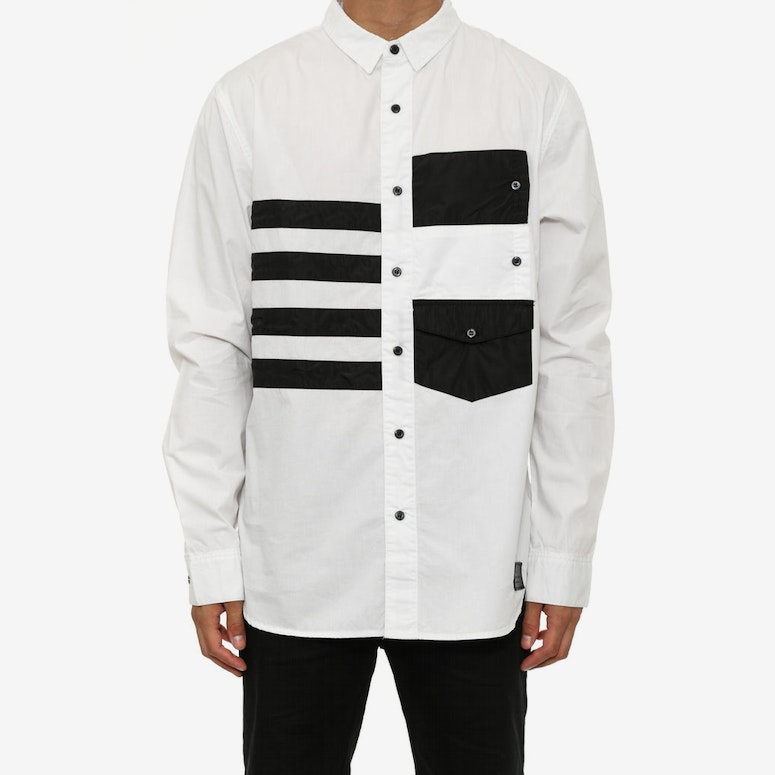 Dub C Button up White