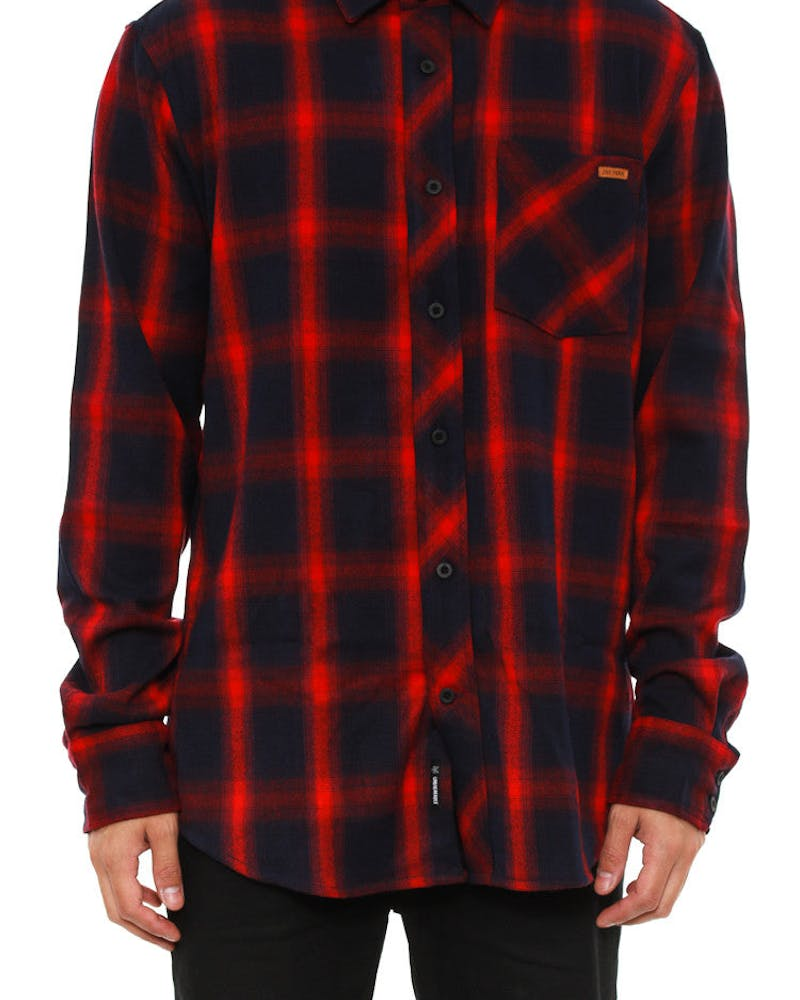 Broadway Flannel Red
