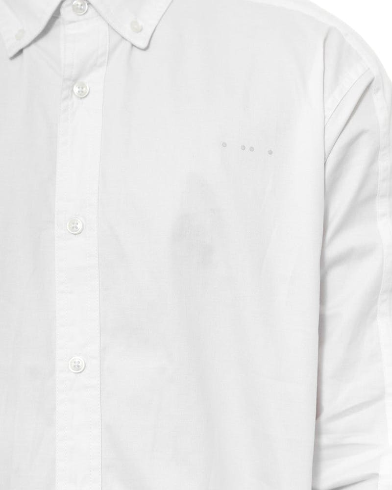 Fornax Long Sleeve Button-up White