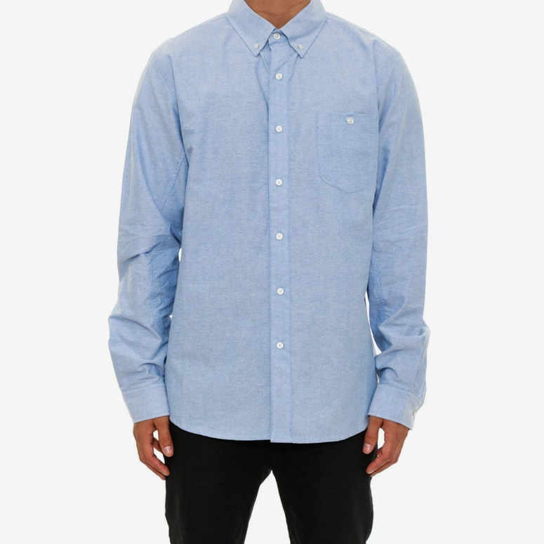 Good Fella Long Sleeve Shirt Blue