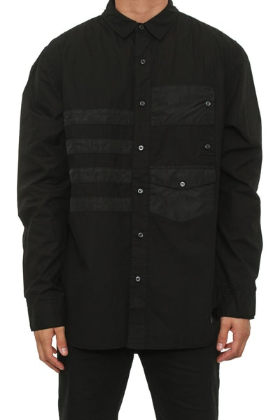 Dub C Button up Black