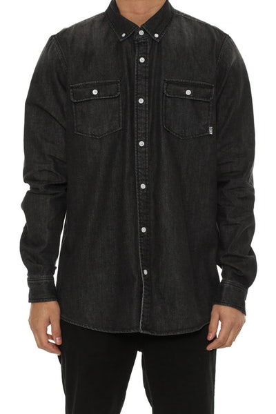 Joe Denim Lsl Shirt Black Denim
