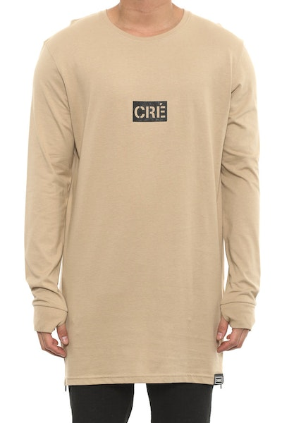 Division Capone 2 Long Sleeve Tee Stone