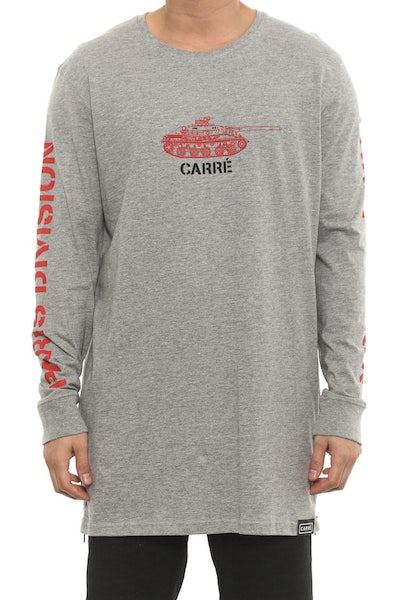Tanked Capone 2 Long Sleeve Tee Grey