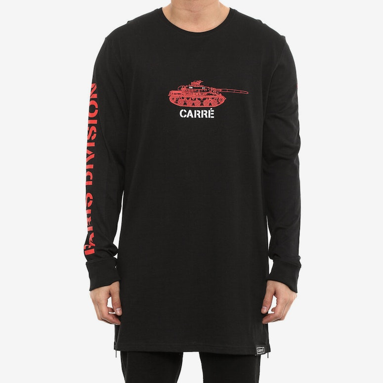 Tanked Capone 2 Long Sleeve Tee Black
