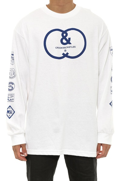 Backwoods Long Sleeve White