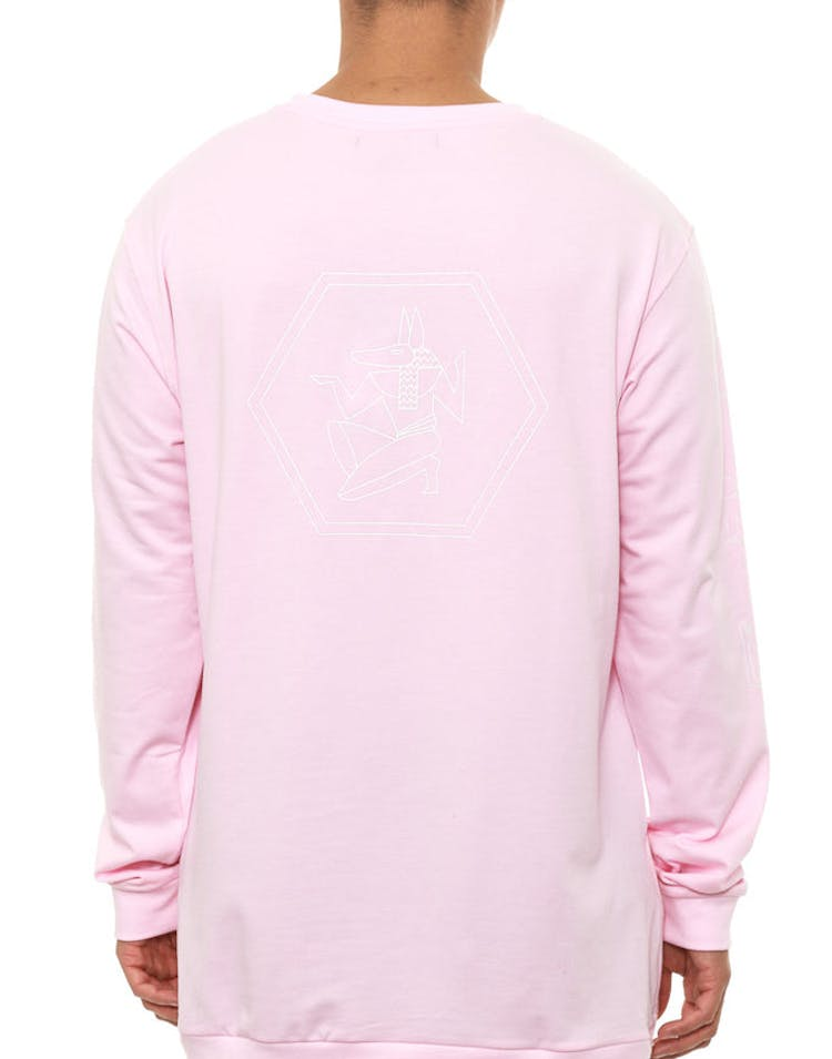 Egypt Long Sleeve Tee Pink