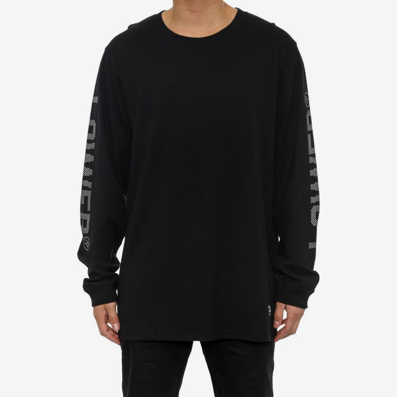 Qrs Long Sleeve Tee Athens Black