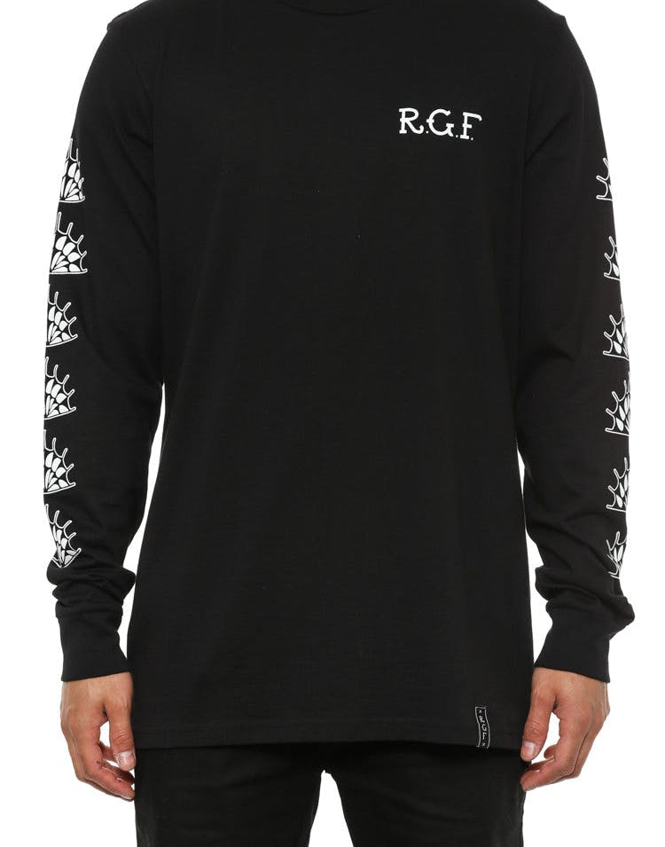 Rgf X TD Widowed Long Sleeve T Black