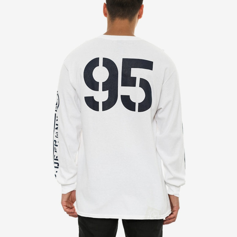 Offshore Long Sleeve Tee White