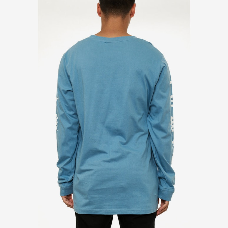 Town Qrs L/sleeve Tee Light Blue
