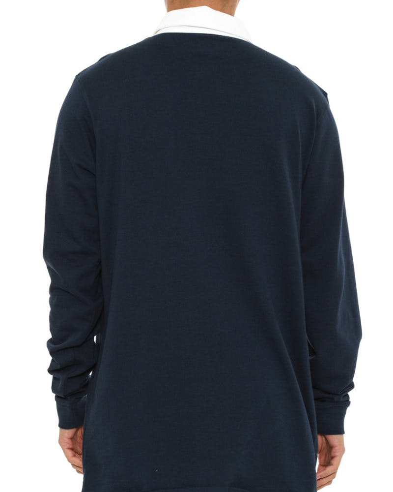 Nyyc Rugby Long Sleeve Top Navy