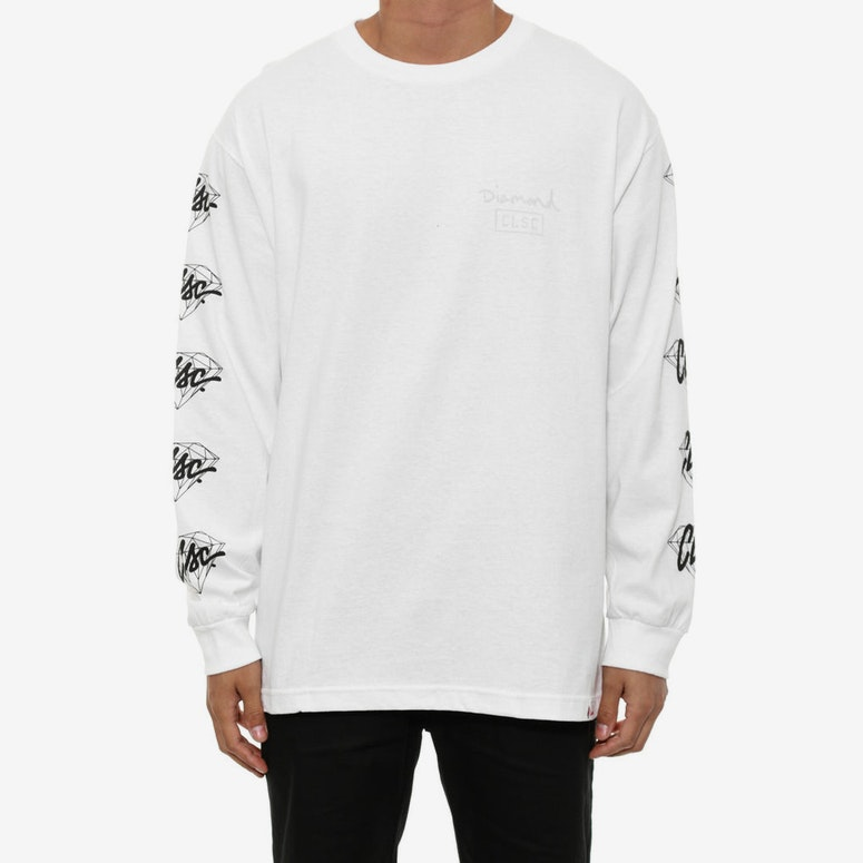 X Clsc Stndrd Long Sleeve Tee White